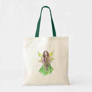 Hada verde bolsas de mano