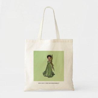 Hada verde bolsa