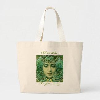 Hada verde de Absinthe~The Bolsa Lienzo