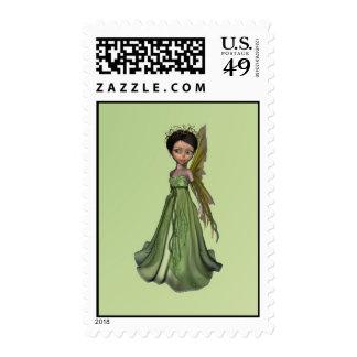 Hada verde sellos