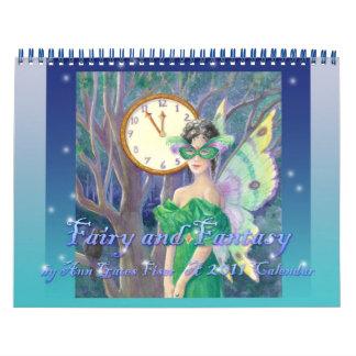 Hada y calendario de la fantasía 2011