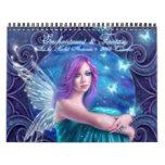 Hada y calendario del arte 2015 de la fantasía