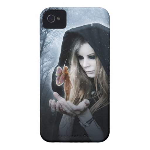 Hada y chica Case-Mate iPhone 4 carcasas