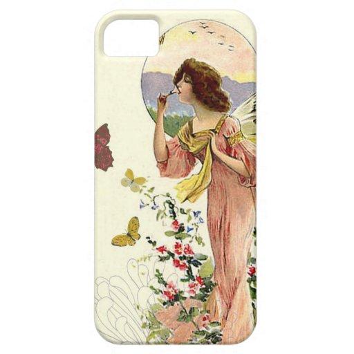 Hada y mariposas del Victorian Funda Para iPhone SE/5/5s
