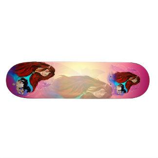 Hada y monopatín del unicornio patineta personalizada