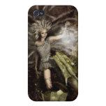 Hada y su dragón iPhone 4 cobertura