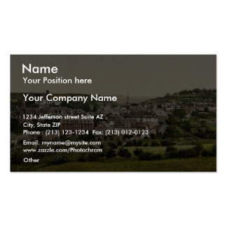 Hadamar, Frankfort on Main (i.e. Frankfurt am Main Business Card Templates