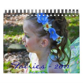 Hadas - 2011 calendarios de pared