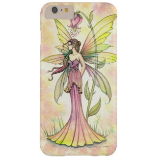 Hadas de hadas del arte de la fantasía de la flor funda de iPhone 6 plus barely there
