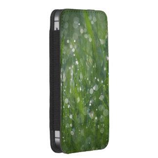 Hadas de la hierba funda acolchada para iPhone