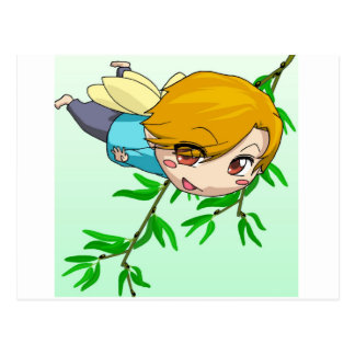 Hadas de Manga por Nekoni Tarjetas Postales