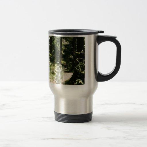 Hadas del arbolado taza