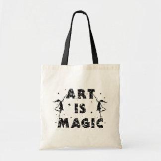 Hadas del arte: El arte es mágico Bolsa Tela Barata