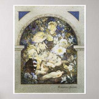 Hadas del pleno verano, C. 1885 Posters