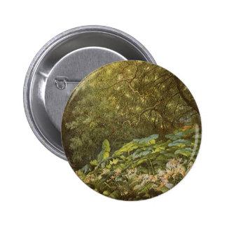 Hadas del Victorian, debajo de las hojas del Pin Redondo De 2 Pulgadas