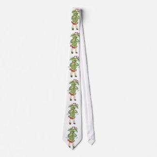 Hadas Elizabeth Gordon de la flor del navidad Corbatas