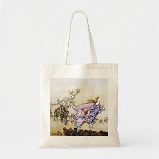 Hadas en la bolsa de asas de los árboles