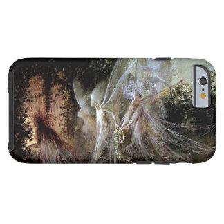 Hadas que miran en el borde del bosque funda de iPhone 6 tough