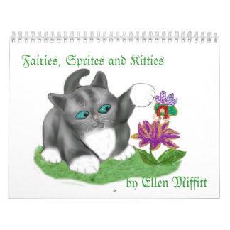 Hadas, Sprites y calendario de los gatitos