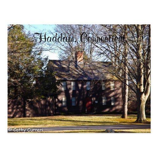 Haddam, Connecticut Postcard