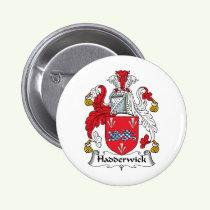 Hadderwick Family Crest Button