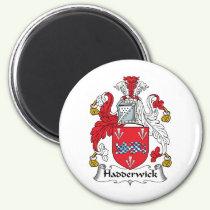 Hadderwick Family Crest Magnet