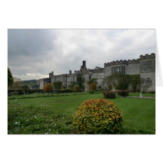 Haddon Hall and Gardens Greeting Card