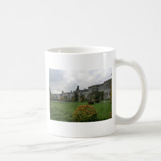 Haddon Hall and Gardens Classic White Coffee Mug