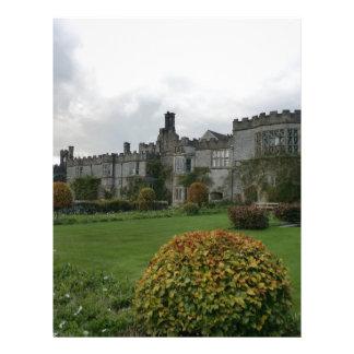 Haddon Hall and Gardens Custom Letterhead