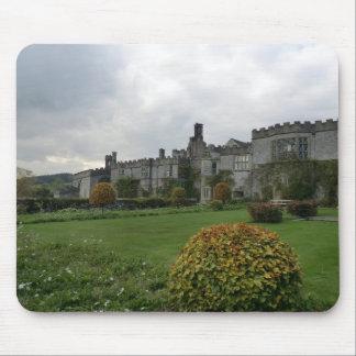 Haddon Hall and Gardens Mouse Pads