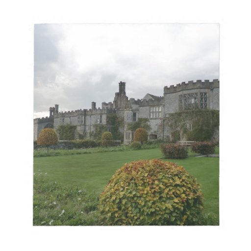 Haddon Hall and Gardens Note Pad
