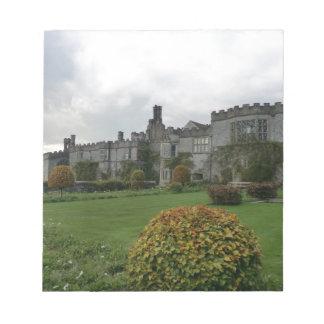 Haddon Hall and Gardens Notepad