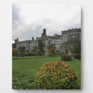 Haddon Hall and Gardens Plaque