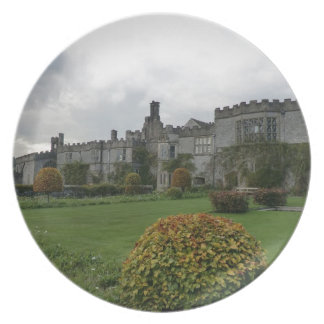 Haddon Hall and Gardens Party Plate