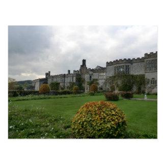 Haddon Hall and Gardens Postcard