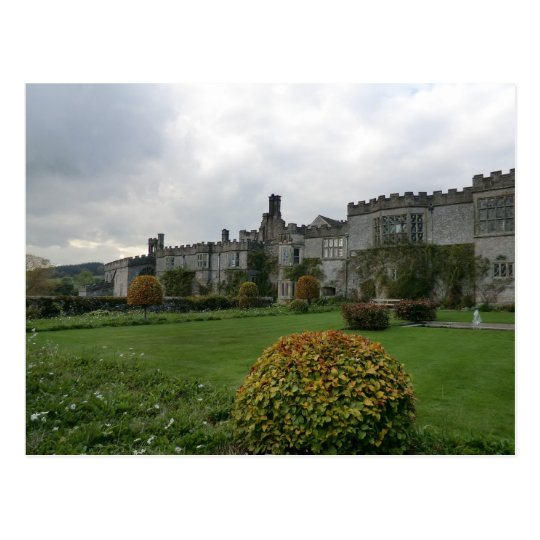 Haddon Hall and Gardens Postcard