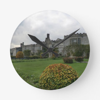 Haddon Hall and Gardens Round Clock