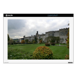 Haddon Hall and Gardens Skins For Laptops