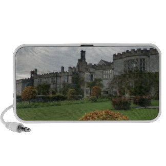 Haddon Hall and Gardens Notebook Speakers