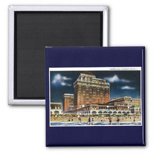 Haddon Hall, Atlantic City, New Jersey Fridge Magnets