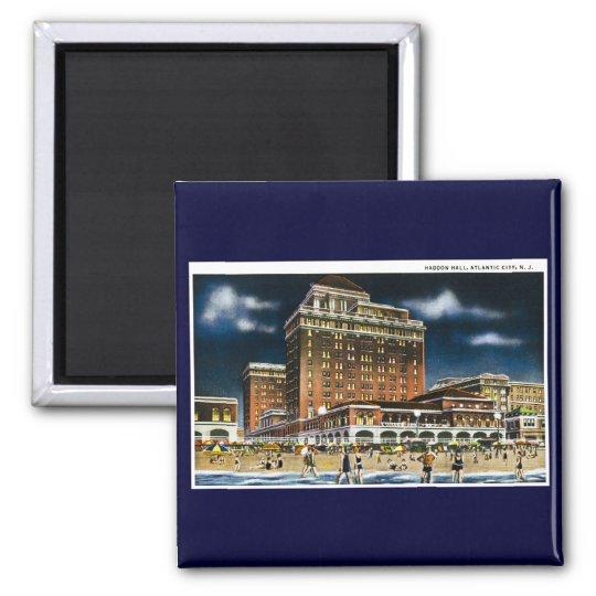 Haddon Hall, Atlantic City, New Jersey Magnet