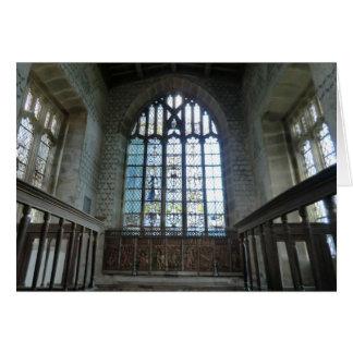 Haddon Hall Chapel Card