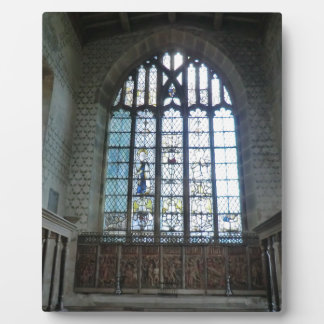 Haddon Hall Chapel Display Plaque