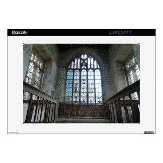 Haddon Hall Chapel Laptop Decal