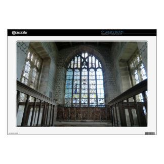"Haddon Hall Chapel Decals For 17"" Laptops"