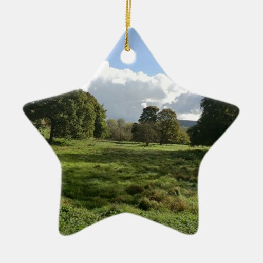 Haddon Hall Christmas Ornament