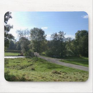 Haddon Hall Driveway Mousepads