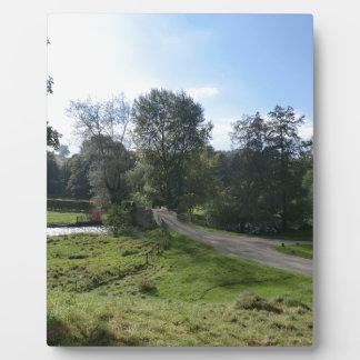 Haddon Hall Driveway Photo Plaque