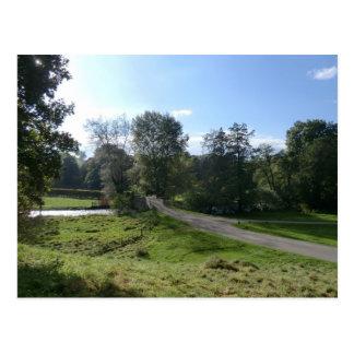 Haddon Hall Driveway Postcard