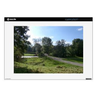 Haddon Hall Driveway Laptop Decal